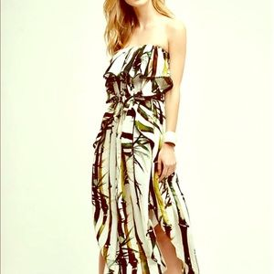 NWOT Anthropologie Kathu Silk Maxi Dress 🌴